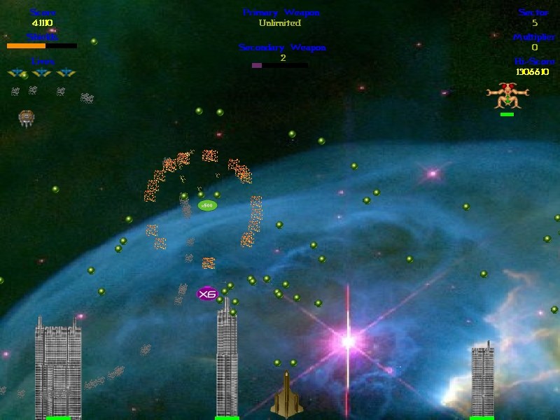 Screenshot of Wiggilez Blast