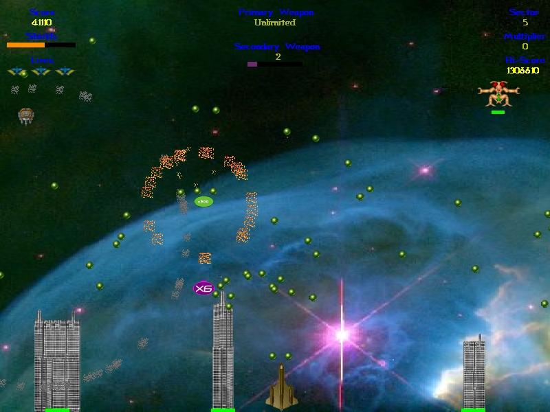 Screenshot of Wiggilez Blast
